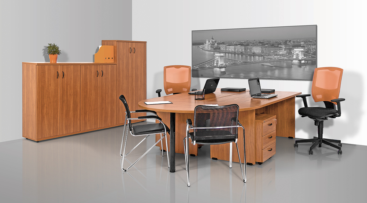 Vénusz laplábas asztalok, íróasztalok, tárgyalóasztalok