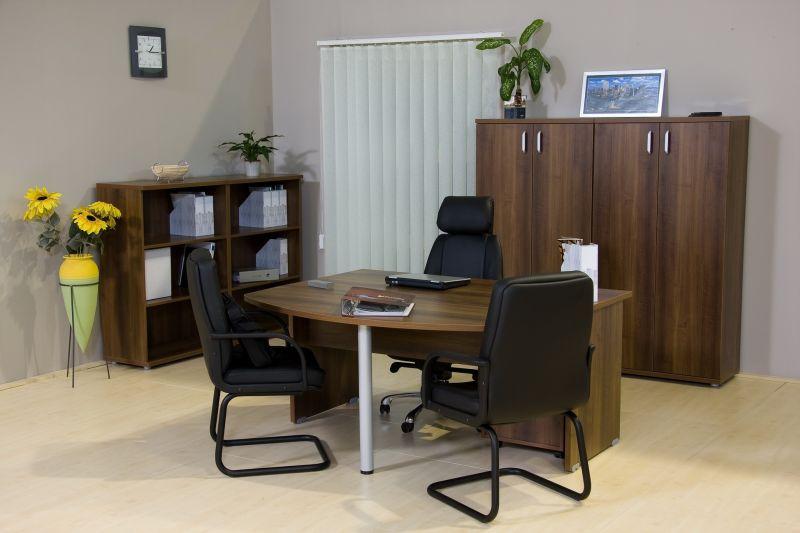 Vénusz íróasztal tárgyalótoldattal dijoni dió szín