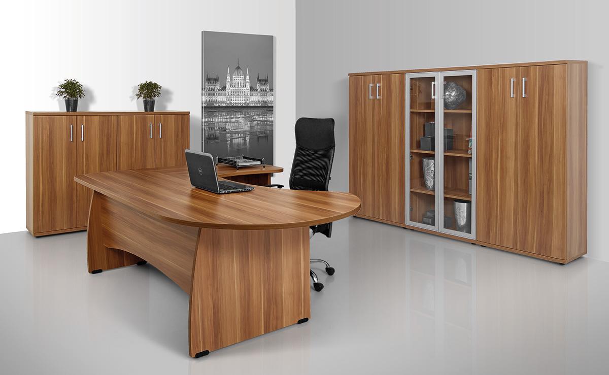 Vénusz irodabútor laplábas asztalok