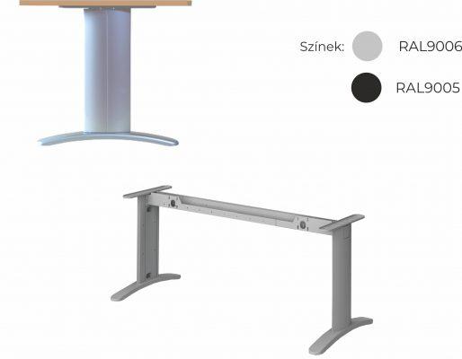 Vénusz irodabútor LUX fémlábas asztalok, tárgyalóasztalok