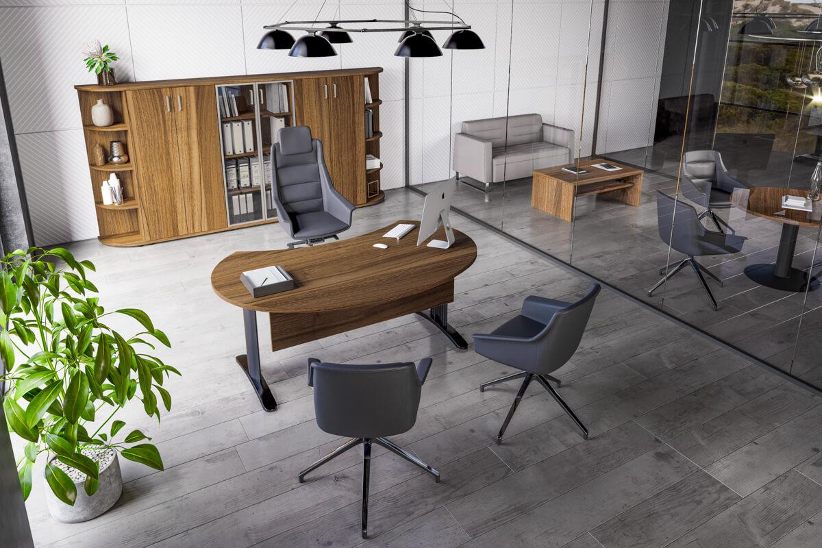 Az elegáns LUX fémlábbal szerel asztalok, vezetői asztalok, tárgyalóasztalok bemutatása
