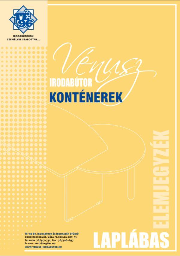 Vénusz irodabútorok fiókos konténerei
