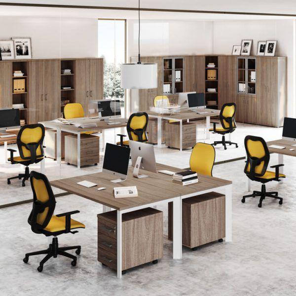 Trend fémlábas íróasztal család